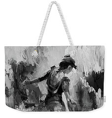 Weekender Tote Bag featuring the painting Spanish Dance 7734j by Gull G