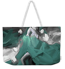 Weekender Tote Bag featuring the painting Spanish Dance Art 56yt by Gull G