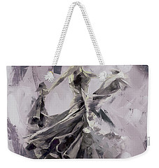 Weekender Tote Bag featuring the painting Spanish Dance Painting 03 by Gull G