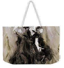 Weekender Tote Bag featuring the painting Spanish Dancer 3400i by Gull G
