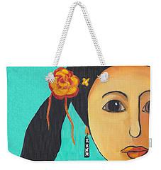 Spanish Girl Weekender Tote Bag