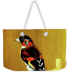 Spanish Gold Finch Weekender Tote Bag