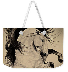Spanish Horses Weekender Tote Bag by Cheryl Poland