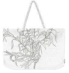 Spanish Lavender Weekender Tote Bag