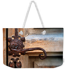 Spanish Mission Door Handle Weekender Tote Bag