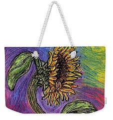 Spanish Sunflower Weekender Tote Bag