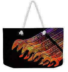 Spanners 01 Weekender Tote Bag by Kevin Chippindall