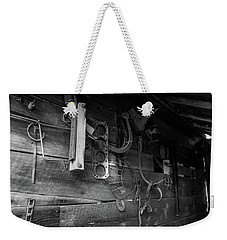 Weekender Tote Bag featuring the photograph Spare Parts by Doug Camara