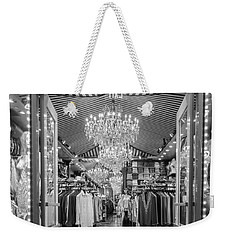 Weekender Tote Bag featuring the photograph Sparkle Rock by Melinda Ledsome