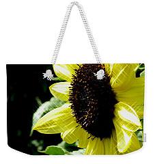 Sparkle Sunflower Weekender Tote Bag