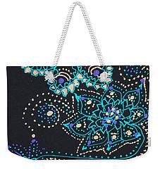 Midnite Sparkle Weekender Tote Bag by Carole Brecht
