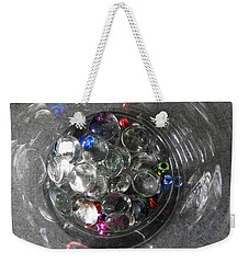 Sparkles Weekender Tote Bag by Betty-Anne McDonald