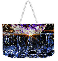 Sparkling Glass Weekender Tote Bag
