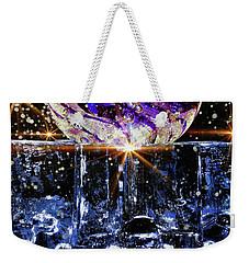 Sparkling Glass Weekender Tote Bag