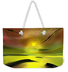 Sparkling In The Sand Weekender Tote Bag