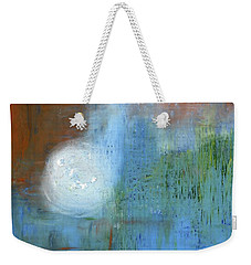 Weekender Tote Bag featuring the painting Sparkling Sun-rays by Michal Mitak Mahgerefteh
