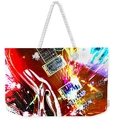 Weekender Tote Bag featuring the photograph Sparks Fly by LemonArt Photography