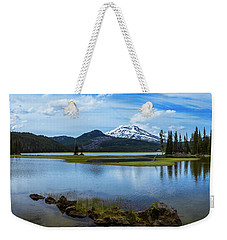 Sparks Lake, Oregon Weekender Tote Bag