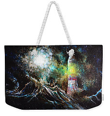 Sparks - The Storm At The Start Weekender Tote Bag by Sandro Ramani