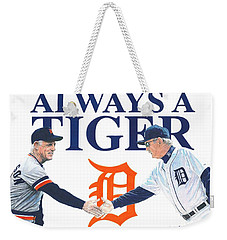 Sparky Anderson And Jim Leyland Weekender Tote Bag