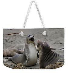 Sparring Seals  Weekender Tote Bag