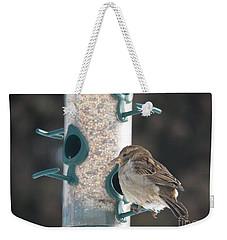 Sparrow And Seed Weekender Tote Bag
