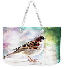 Sparrow Beauty 0004. Weekender Tote Bag