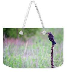 Sparrow On The Peak Field Weekender Tote Bag