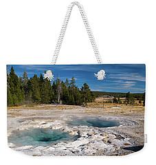 Spasmodic Geyser Weekender Tote Bag by Steve Stuller