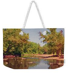 Spavinaw Creek Weekender Tote Bag
