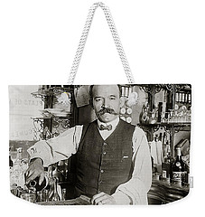 Speakeasy Bartender Weekender Tote Bag by Jon Neidert