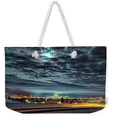 Spearfish Under The Moon Weekender Tote Bag by Fiskr Larsen