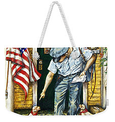 Special Delivery Weekender Tote Bag