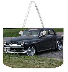 1948 Special Deluxe Plymouth Weekender Tote Bag