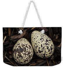 Speckled Killdeer Eggs By Jean Noren Weekender Tote Bag by Jean Noren