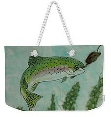 Speckled Weekender Tote Bag