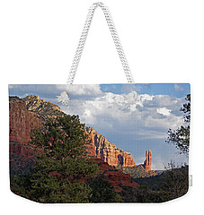 Weekender Tote Bag featuring the photograph Spectacle by Lynda Lehmann
