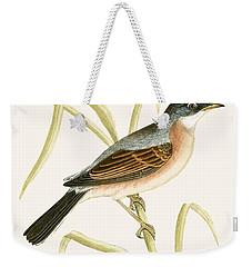 Spectacled Warbler Weekender Tote Bag by English School
