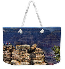 Weekender Tote Bag featuring the photograph Spectacular Grand Canyon by Roberta Byram