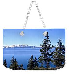 Spectacular Lake Tahoe Weekender Tote Bag