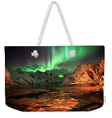 Spectacular Night In Lofoten 1 Weekender Tote Bag
