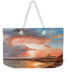 Spectacular On Folkestone Harbour Weekender Tote Bag