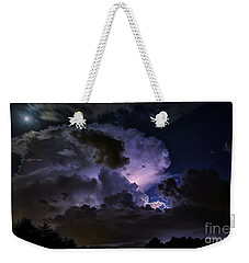Spectacular Sky Show Weekender Tote Bag