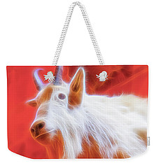 Spectral Mountain Goat Weekender Tote Bag
