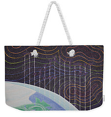 Spectrum Earth Spacescape Weekender Tote Bag