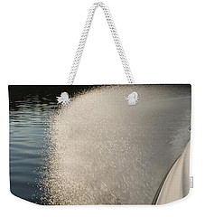 Speed Boat Weekender Tote Bag by Gary Eason