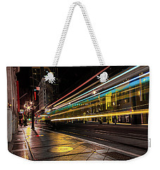 Speed Of Light Weekender Tote Bag