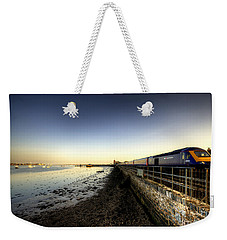 Speeding Thro Starcross Weekender Tote Bag