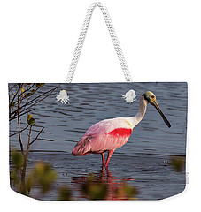 Spoonbill Fishing Weekender Tote Bag