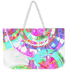 Sphere Series 965.030812vsscinvx3fddfx3 Weekender Tote Bag by Kris Haas